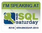 SQLSaturday 216
